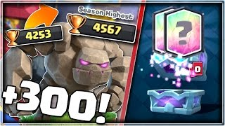 300 Trophies In ONE DAY With This Deck!   Draft Chest LEGENDARY!!   Clash Royale