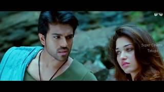 Love Scene || Racha Telugu Movie Scene || Ram Charan || Thamaanha  || HD 1080p