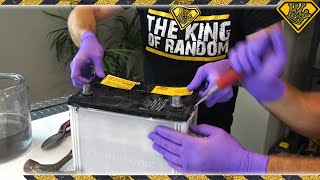 Hacking Open A Car Battery (for Lead and Acid)
