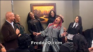 """Braxton Sisters Perform Cosby Show Song """"Night Time Is The Right Time"""""""