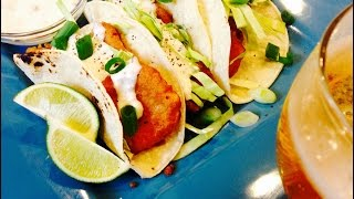 Crispy Beer Batter Fish Tacos | ThymeWithApril