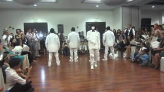 Jabbawockeez Perform at Joe and Sofia's Wedding 2014