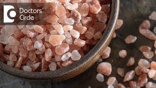 Is black or rock salt healthier than normal salt? - Dr. Mini Nair
