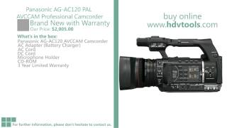 Panasonic AG-AC120 AVCCAM Price $2005 Brand New with Warranty
