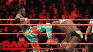 Kofi Kingston vs. Titus O'Neil: Raw, Jan. 9, 2017