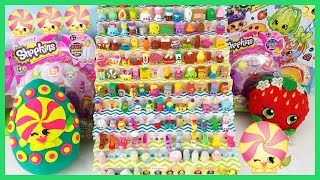P W Shopkins Season 2 Minnie Mintie Play Doh Surprise Egg Limited Edition Hunt 12 And 5 Packs