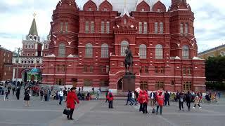 The Kremlin, Red square, countdown clock