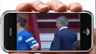 Teknik Direktör Bunu Yaparsa Oyuncular Ne Yapmaz ki! Mourinho sahaya dalıp rakibe faul yaptı
