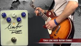 Limbo Variable Clipping Voltage Overdrive By Nunomo LLC (USA Made) Backing Tracks Only