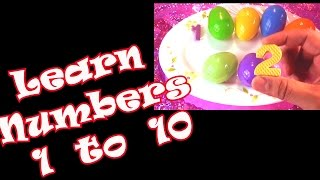 Learn Numbers 1 to 10 with Surprise Eggs Find Chhota Bheem and Spiderman