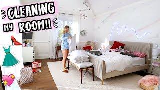 Cleaning My Room!! AlishaMarieVlogs