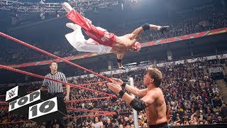Rey Mysterio's wildest high-flying moves: WWE Top 10, Oct 15, 2018
