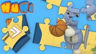 NuNi Puzzle | Basketball puzzle for kids| puzzle videos