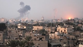 Massive Israeli Strike-back on Gaza Strip (Disturbing Video)