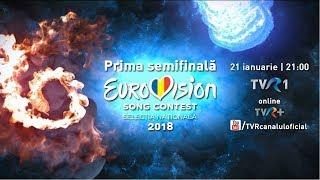 Prima Semifinală Eurovision România 2018