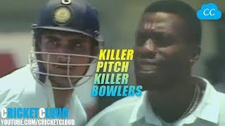 IND vs WI | KILLER PITCH - KILLER BOWLERS |  WHEN WI was So Strong to defend any Total !!