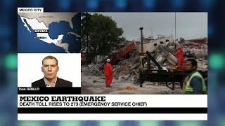 "Mexico quake: ""an incredible show of strength of civilians"""
