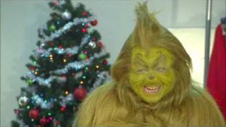"How The Grinch prepares for ""How The Grinch Stole Christmas"" at Universal"