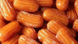 طريقة عمل بلح الشام - حلويات 2014