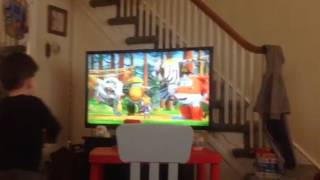 Max sings the Super Wings Theme Song
