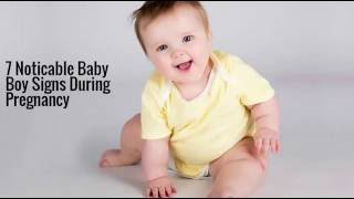 7 Noticable Baby Boy Signs During Pregnancy - plan my baby ebook free download