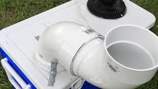 DIY Air Conditioner | Build An Off-Grid A/C for under $50 | BLOWS COLD