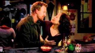 Cristina & Owen Grey's 7x21 Unexpected Kiss