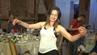 Belly Dancers Hafla Tbilisi Georgia 2018