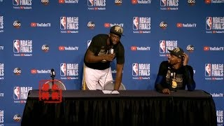 "KD&Stephen Curry React to Beat LeBron James Again:""Never GET Bored!"""