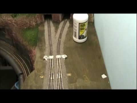 Model Railroad VLog Ballasting Track Part 4