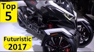 Top 5 Futuristic Motorcycles in JAPAN 2017