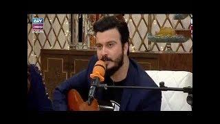Tahir Ali Shah sung a song in Salam Zindagi