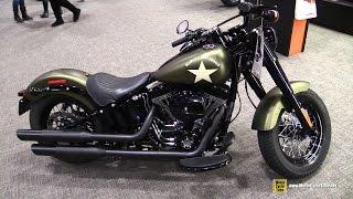 2017 Harley Davidson Softail SLim S - Walkaround - 2017 Toronto Motorcycle Show
