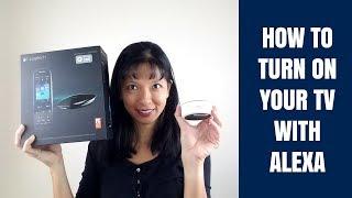How to Turn on Your TV with Alexa - Harmony Hub Setup