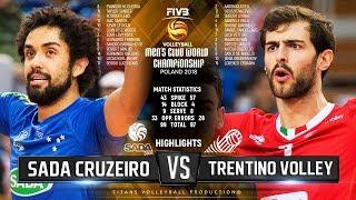Sada Cruzeiro vs. Trentino Volley | Highlights | FIVB Club World Championship 2018