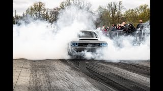 Hellcat KICKED OFF TRACK for going too fast