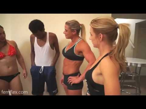 Muscle comparisons boy vs girls and armwrestling