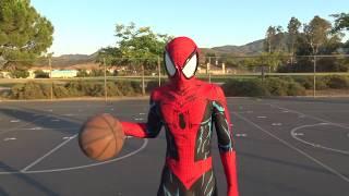 Spider-Man Basketball Intro - Trick Shots