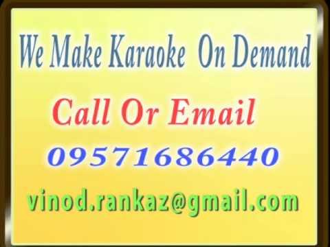 Chali Chali Re Patang Meri Chali Re   Karaoke   Bhabhi