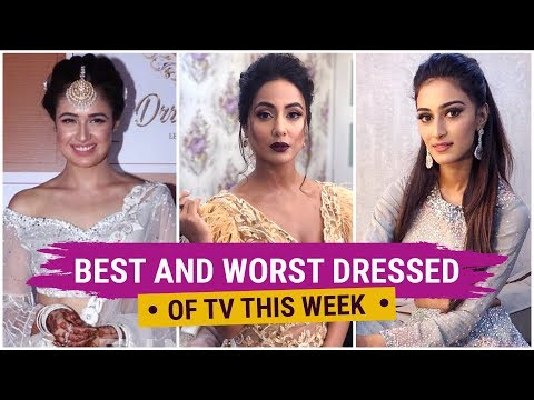 Xxx Mp4 Hina Khan Mouni Roy Yuvika Chaudhary TV S Best And Worst Dressed Of The Week PriVika 3gp Sex