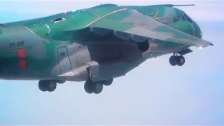 Tech one - Embraer - KC-390 Flight Campaign Status
