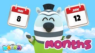 Months Song – Dazoo – Kids Star Channel