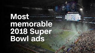 These are the most memorable 2018 Super Bowl ads