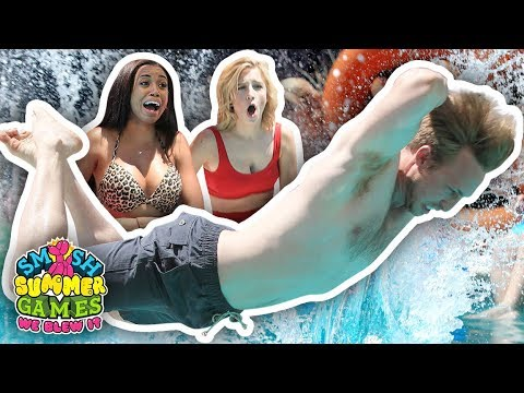 ULTIMATE BELLY FLOP CONTEST FINALE Smosh Summer Games