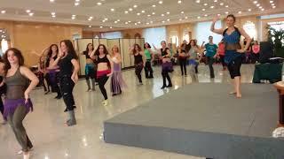 Yaël Zarca - Oriental dance workshop in Madrid - baladi choreo