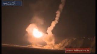 بعد فضيحة الطائرة الكرتونية..الصواريخ الإيرانية تسقط في الصحراء العراقية قبل وصولها لدير الزور