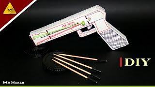 how to make gun at home - DIY powerful gun