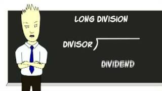 Long Division Cartoon by Mr. Duey
