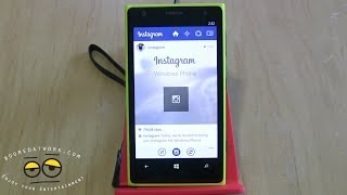 Instagram Beta on Windows Phone 8 Walkthrough Review