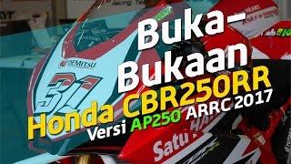Buka Bukaan Honda CBR250RR AHRT Versi AP250 ARRC 2017